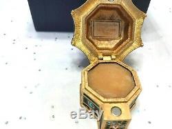 Estee Lauder 2005 Parfum Solide Compact Mib Enchanteresse Pagode Jay Strongwater