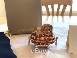 Estee Lauder 2005 Parfum Solide Compact Pampered Pékinois Mib Pleasures