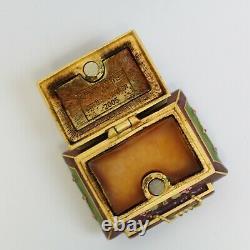 Estee Lauder 2005 Solid Parfum Compact Trésors Parfumés Strongwater Mibb
