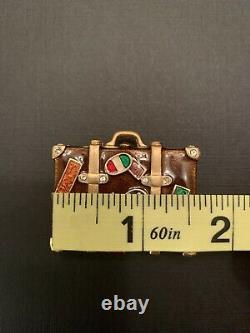 Estee Lauder 2006 Linge Blanche World Traveler Suitcase Solid Parfum Compact
