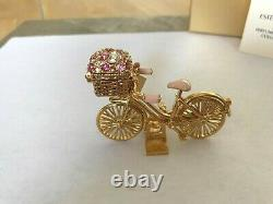 Estee Lauder 2008 Plaisirs Solid Parfum Compact Spirited Bike Ride Mib