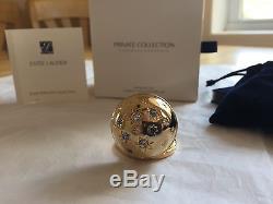 Estee Lauder 2012 Parfum Solide Compact Ciel Scintillant Mib Tuberose Gardenia