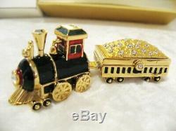 Estee Lauder 2 Pc. Locomotive Parfum Solide Compact (belle) Mibb Avec Étiquette