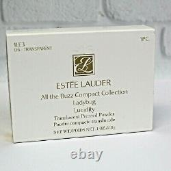 Estee Lauder All The Buzz Ladybug Lucidity Poudre Compact Mibb