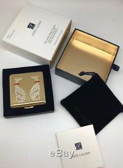 Estee Lauder Année Du Chien Compact Perfecting Poudre Pressée Transparent Nib