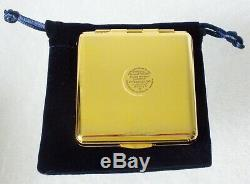 Estee Lauder Année Du Chien Perfecting Poudre Pressée Compact Transparent01 Nib