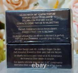 Estee Lauder Aromatics Élixir 40e Anniversaire Solide Parfume Collier. 04oz1.4g