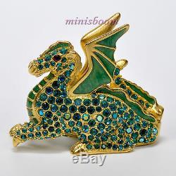 Estee Lauder Beau Magic Dragon Compact Pour Parfum Solide 1999 Nouveauté