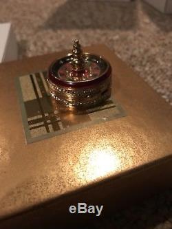 Estee Lauder Beautiful 2002 Vegas Roulette Wheel Parfum Compact Compact Nouveau