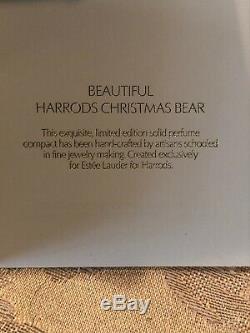 Estee Lauder Beautiful 2011 Compact Parfum Uniforme Harrods Pour Noël