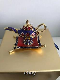 Estee Lauder Beautiful Belle Grant 3 Wishes Compact For Solid Perfume New W Box