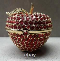 Estee Lauder Beautiful Red Apple Solid Parfum Compact Mint Condition