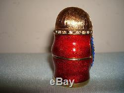 Estee Lauder Beautiful Solid Parfum Matryoska Nesting Doll 2008 Compact Box