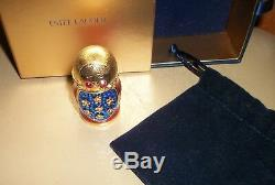 Estee Lauder Beautiful Solid Parfum Matryoska Nesting Doll 2008 Compact Nouveau