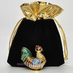 Estée Lauder Bejeweled Coq Parfum Solide Compact 2004 Par Judith Leiber