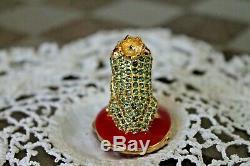 Estee Lauder Bejeweled Loving Frog Compact Parfum Solide