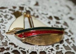 Estee Lauder Bejeweled Sail Boat Voiles Mobiles Compactes À Parfum Solide