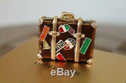 Estee Lauder Bejeweled World Traveler Compact Parfum Solide Avec Boîte