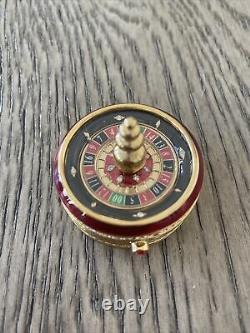 Estee Lauder Belle 2002 Vegas Roulette Wheel Solid Perfume Compact