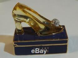Estee Lauder Belle Princesse Pompe Parfum Solide Compact 2001 Stuart Weitzman