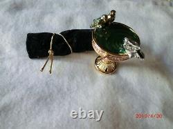 Estee Lauder Birdbath Solid Parfum Compact Mib Pleasures 2001
