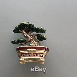 Estee Lauder Bonsaï 2007 Et 2003 Chinese Junk Parfum Solide Compact