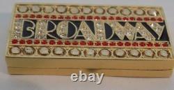 Estee Lauder Broadway Gold Tone Solid Parfum Collector Compact 2008