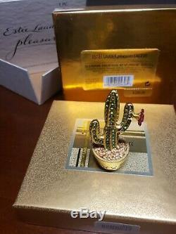 Estée Lauder Cactus Pleasures Parfum Solide Compact Avec Étui Et Boîte
