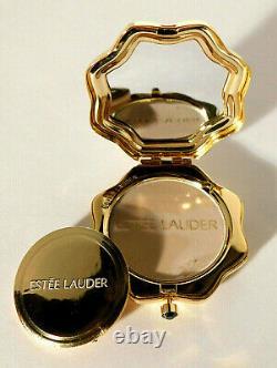 Estee Lauder Carreau Mosaïque Marocain Enamel Powder Compact Ltd. Édition Nos Rare