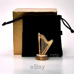 Estee Lauder Celeste Harp Compact Pour 2007 Collection Parfum Solide Boxed
