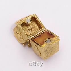 Estee Lauder Chinese Food Container Solid Parfum Compact Nouveau 1.5x1.25x1.25