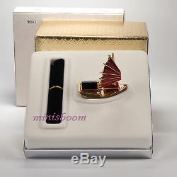 Estee Lauder Chinese Junk Compact Pour 2003 Parfum Solide Nouveau Avec Toutes Les Cases
