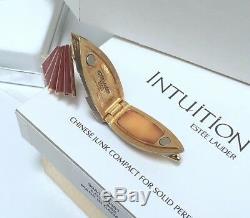 Estee Lauder Chinois Junk Compact Avec Parfum Solide Intuition En Boites D'origine