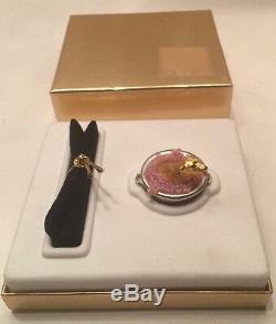 Estée Lauder Chiots Dans Un Tub Figural Compact Solide Parfum 2002 Nib