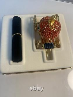 Estee Lauder Cinderella's Coach Solid Perfume Compact, Boîte Originale