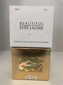 Estee Lauder Cinderellas Coach Compact Au Parfum De Citrouille En Cristal