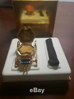 Estée Lauder Cinderellas Coach Cristal Citrouille Parfum Solide Compact Mib