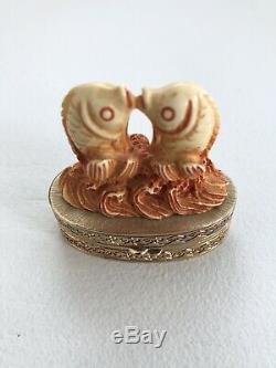 Estee Lauder Cinnabar Parfum Massif Compact Ivory Series 1981