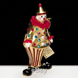Estée Lauder Circus Clown Parfum Solide Compact 2001 Complète Avec Toutes Les Boîtes