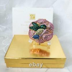 Estee Lauder Colibri Le Buzz Tout Swarowski Crystal Poudre Compacte Complet
