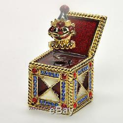 Estee Lauder Collection Jack In The Box Compact Pour Parfum Solide 1999