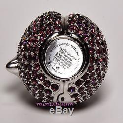 Estee Lauder Collection Plum Compact Pour Parfum Solide 1998 Neuf Avec Toutes Les Boîtes