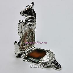 Estee Lauder Collection Zebra Compact Pour Parfum Solide 2001 Nouveauté