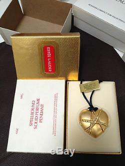 Estee Lauder Collier Pendentif Coeur Spellbound Parfum Solide Compact Dans Boîte