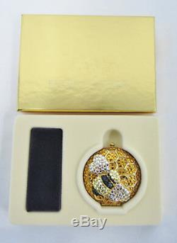 Estee Lauder Compact 2000 Glitter Bugs Collection Glamour Bee Lucidity Powder