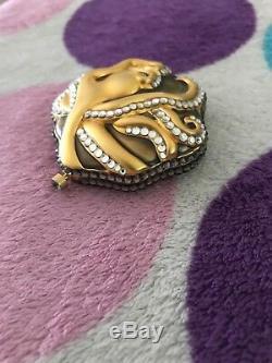 Estee Lauder Compact Octopus Or Cristal Etoiles De Mer Htf Rare