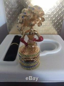 Estee Lauder Compact Parfum Rare Las Vegas Showgirl, 2003, Mib