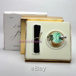Estee Lauder Compact Pour Parfum Bain Oiseau Solide 2001 Collection Nouveau Dans La Boîte