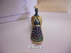 Estee Lauder Compacte Parfum Solide 2003 Precious Peacock Mibb Full