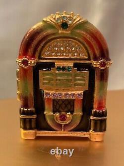 Estee Lauder Compacts Pour Parfums Solides / Jukebox Jeweled, Par Jay Strongwater